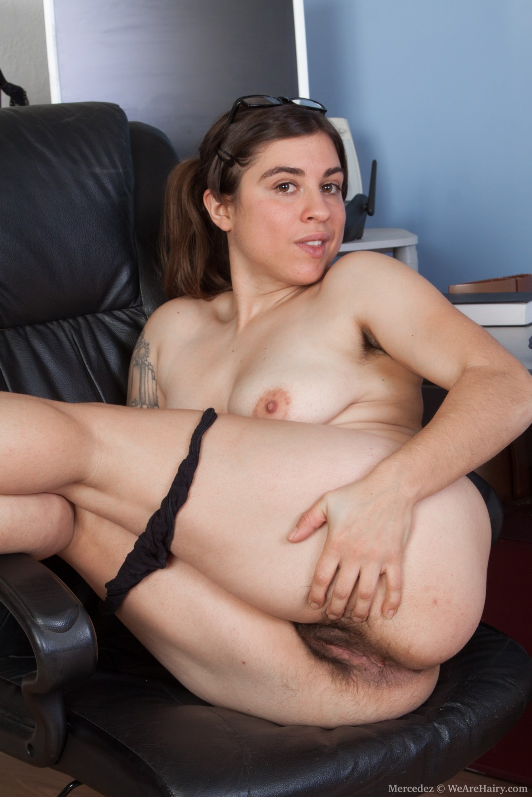 Spread eagle naked bound