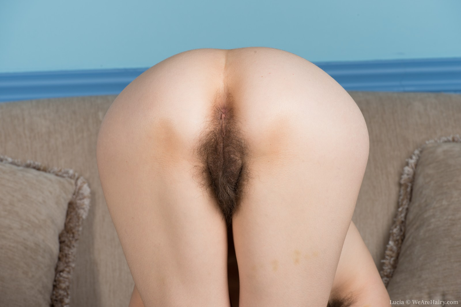 Pussy thong hairy