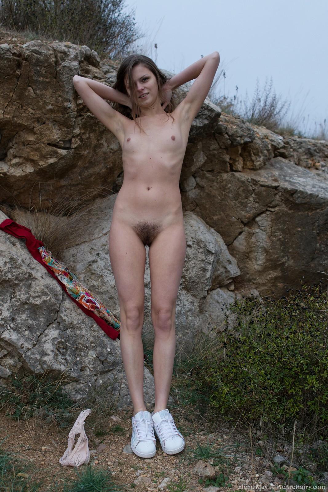 Something is. flexible outdoor girl porn