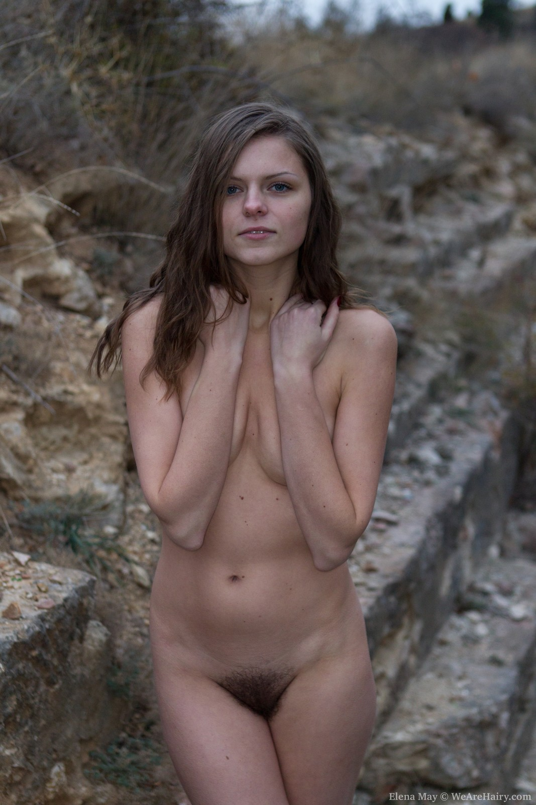 Hairy vagina outdoor sex
