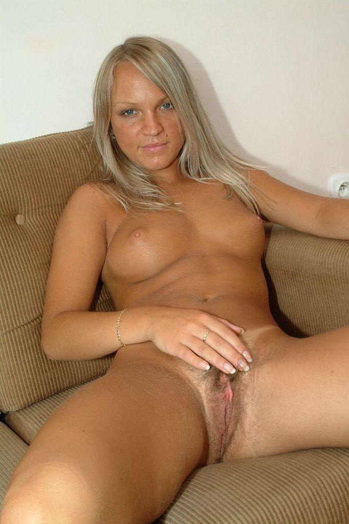 Blonde amateur hairy pussy mature