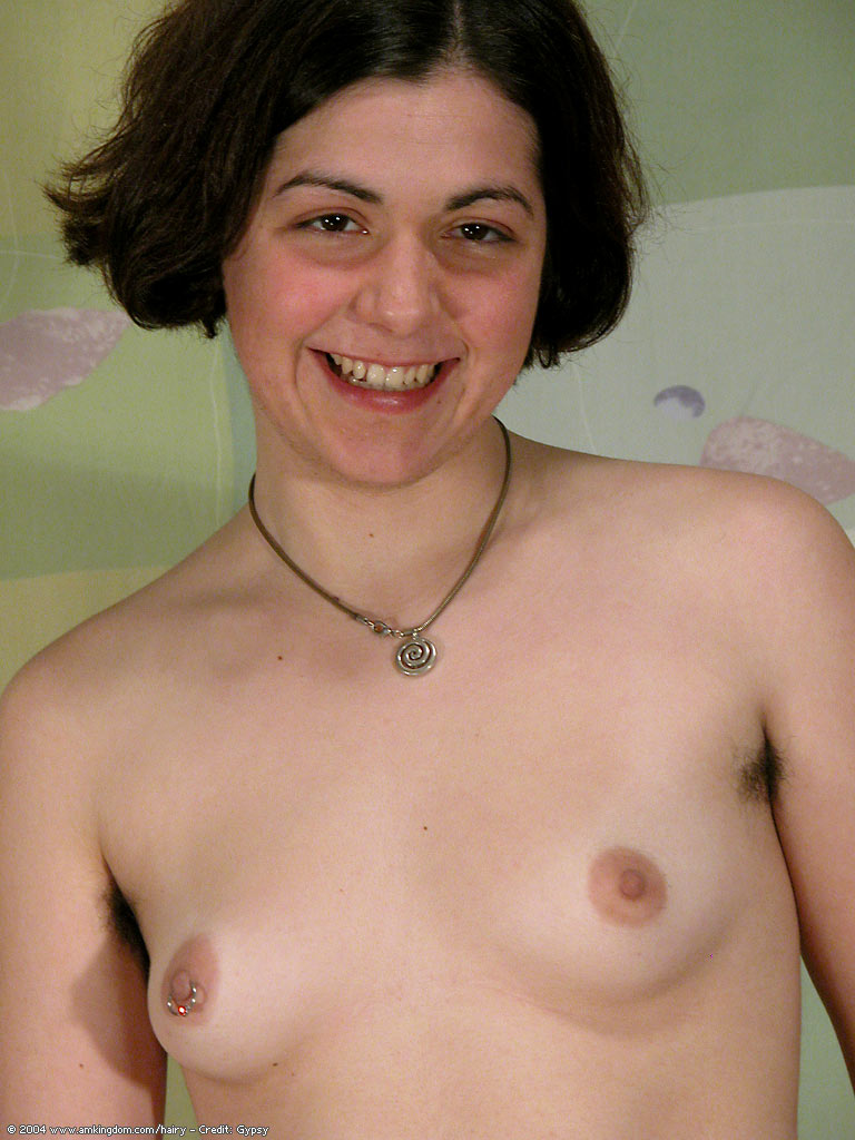 Fat puffy nipples hairy brunetts